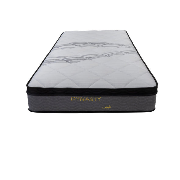 Dynasty Pocket Coil Single Mattress - Warehouse Furniture Clearance