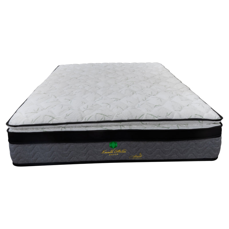 Emerald Bamboo Queen Mattress - Warehouse Furniture Clearance