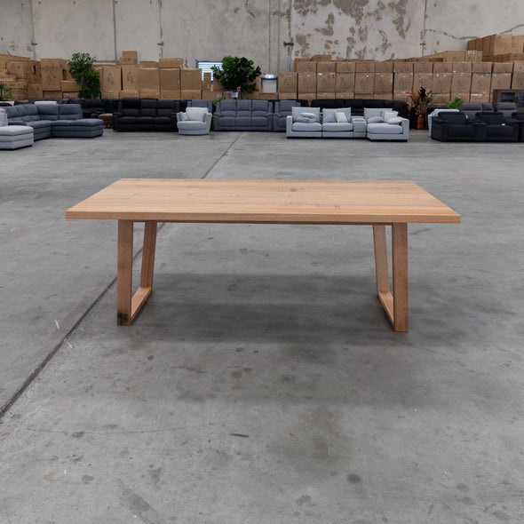 Florida 2100mm Dining Table - Warehouse Furniture Clearance
