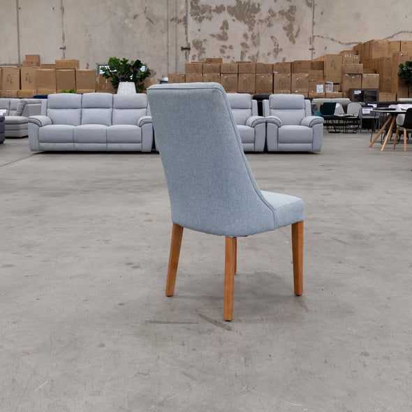 Florida Island Dining Chair - Sky - Warehouse Furniture Clearance