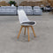 Florida Shell Chair - White - Warehouse Furniture Clearance