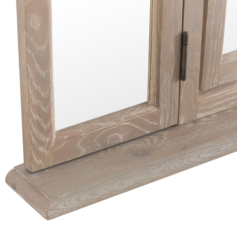 Hardwood Trinket Mirror - FR-TM - Warehouse Furniture Clearance