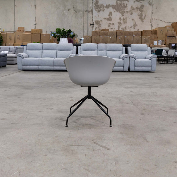 Galvin Tub Chair - Grey - Warehouse Furniture Clearance