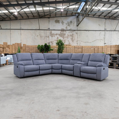 Harlow Modular Corner Lounge - Lava YD - Warehouse Furniture Clearance