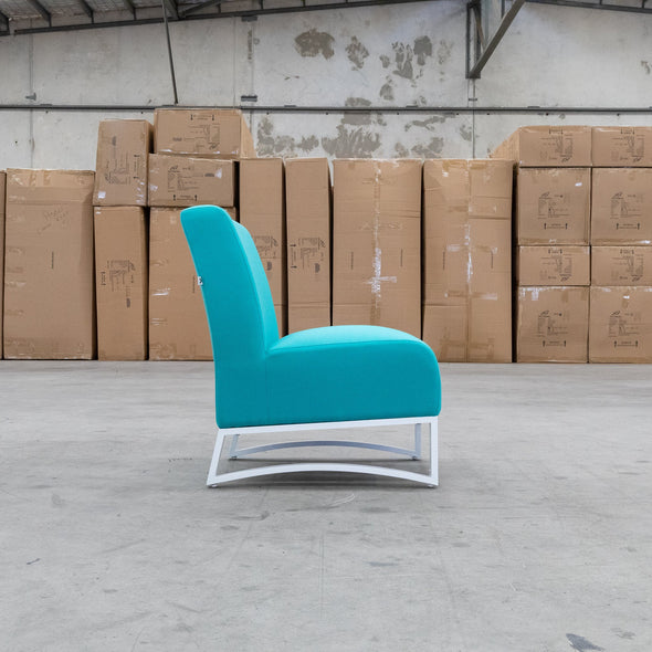 Jester Outdoor Accent Chair - Teal - Warehouse Furniture Clearance