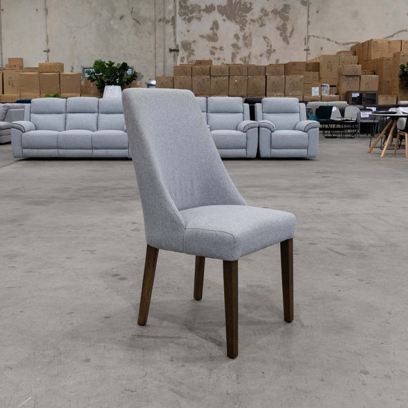Katie Dining Chair - Haze - Warehouse Furniture Clearance
