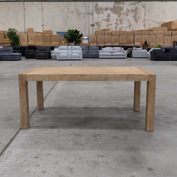 Kendra 2100mm Dining Table - Warehouse Furniture Clearance