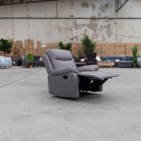 Maine Recliner - Ash - Warehouse Furniture Clearance