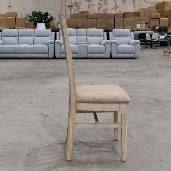 Mexico Slat Back Dining Chair - CSF - Warehouse Furniture Clearance