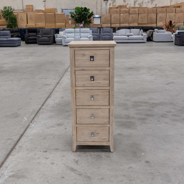 Mexico Slim Tallboy - Warehouse Furniture Clearance