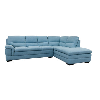 Moreton Chaise Lounge - Sky - Warehouse Furniture Clearance