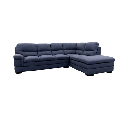 Moreton Chaise Lounge - Thunder - Warehouse Furniture Clearance