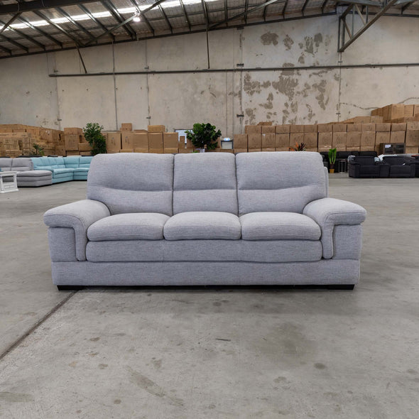 Moreton Three Seater - Cloud - Warehouse Furniture Clearance