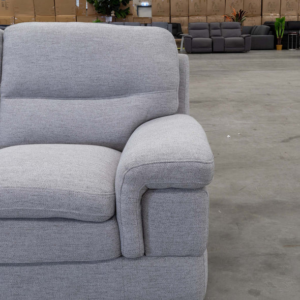 Moreton Two Seater - Cloud - Warehouse Furniture Clearance