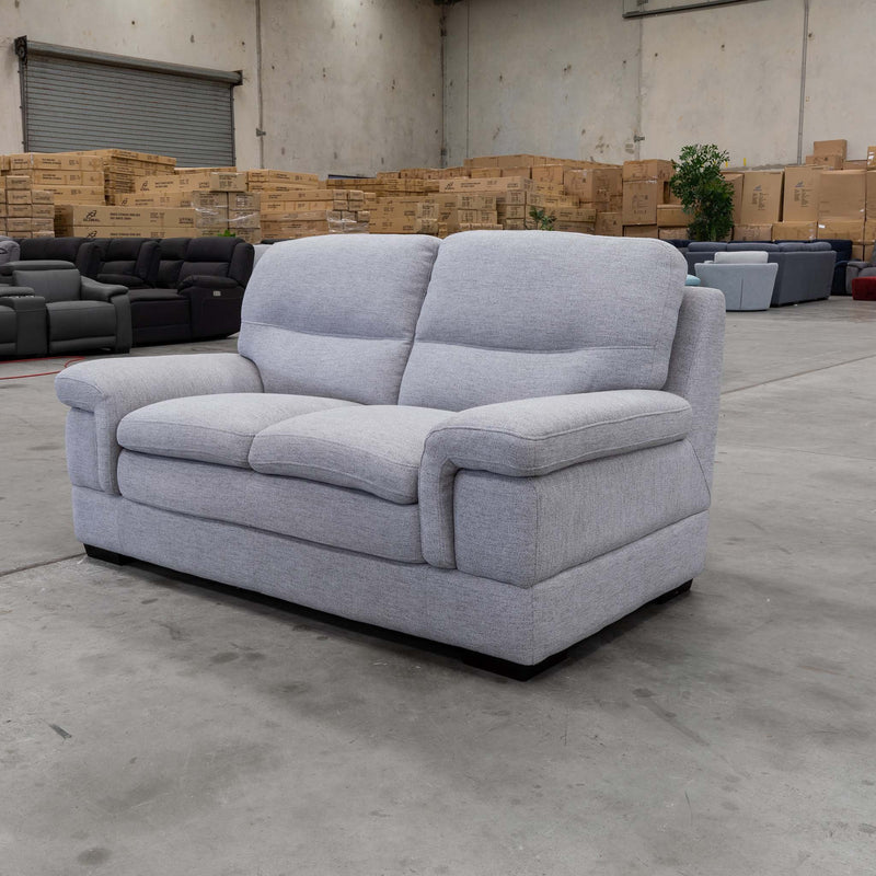Moreton Two Seater Sofa - Cloud - Warehouse Furniture Clearance