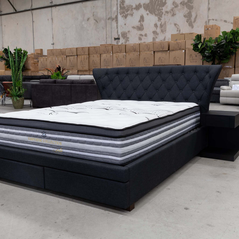 Nano Biotic Queen Mattress - Medium - Warehouse Furniture Clearance