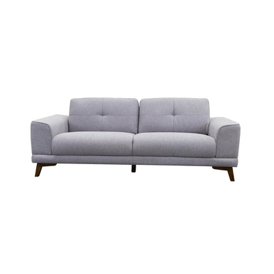 Norman 2.5 Seater - Silver - Warehouse Furniture Clearance