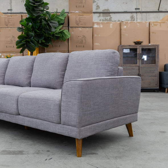 Pisco LHF Chaise Lounge - Alloy - Warehouse Furniture Clearance
