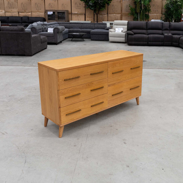 Scala Dresser – Oak - Warehouse Furniture Clearance