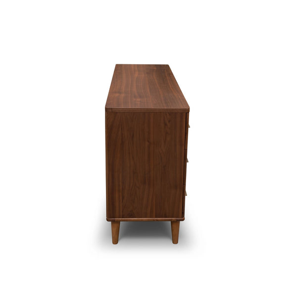 Scala Dresser – Walnut - Warehouse Furniture Clearance