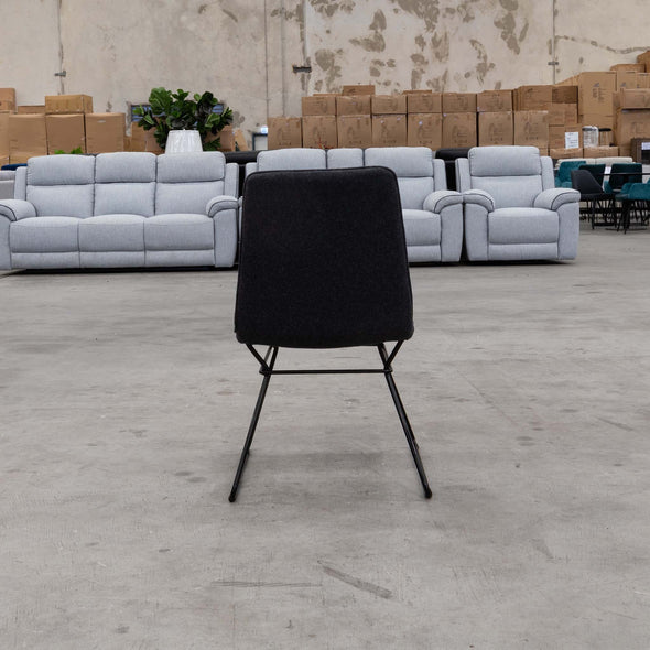 Scoop Chair Cashmere - Charcoal - Warehouse Furniture Clearance