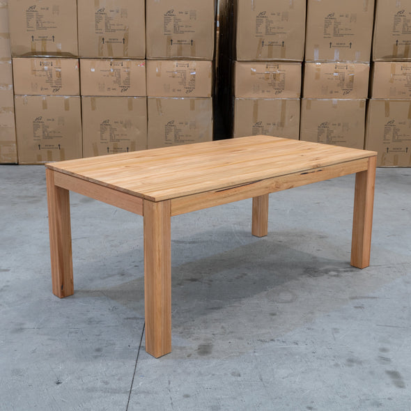 Seville Messmate Hardwood 1800 Dining Table - Warehouse Furniture Clearance