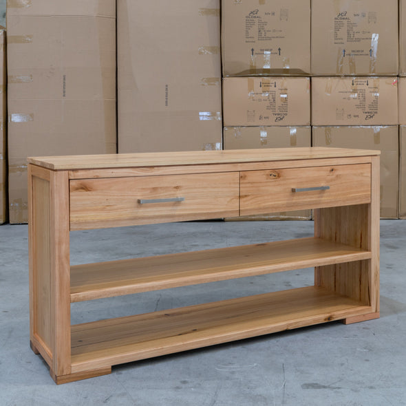 Seville Messmate Hardwood Hall Table - Warehouse Furniture Clearance