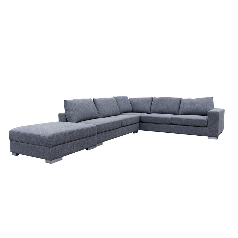 Studio Reversible Chaise Corner Lounge - Onyx - Warehouse Furniture Clearance