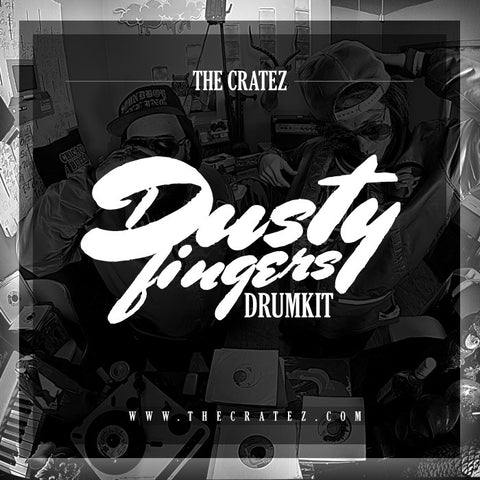 Cratez Dusty Fingers Drum Kit