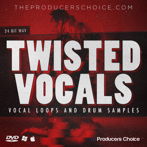 Twisted Vocals & Drum Sample Library