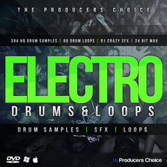 Electro Drum Samples, FX & Loops