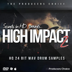 High Impact 2 Drum Library