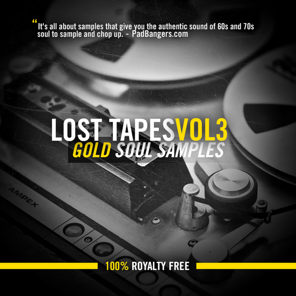 Lost Tapes Vol 3: Gold Soul Samples