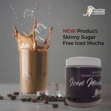 Sweetened Skinny Sugar Free Iced Mocha (500ml)