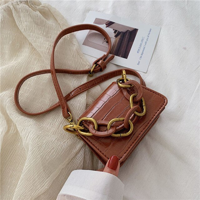 Load image into Gallery viewer, Stone Pattern Mini Crossbody Bag