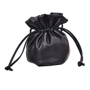 Drawstring Mini Bucket Crossbody Bag