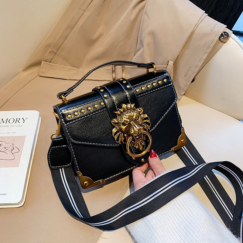 Load image into Gallery viewer, Black Box Crossbody Bag