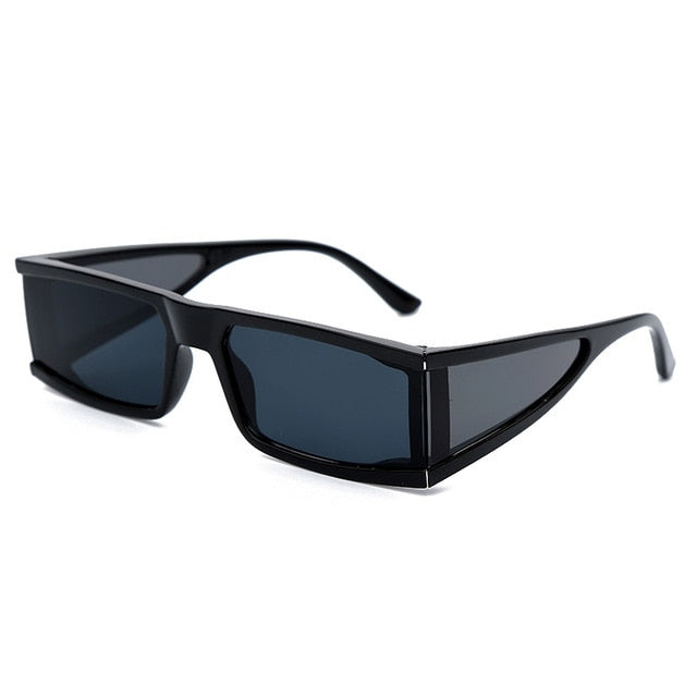 Rectangular Sunglasses With Side Lenses