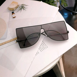 Bold Colour Oversized Cat Eye Sunglasses
