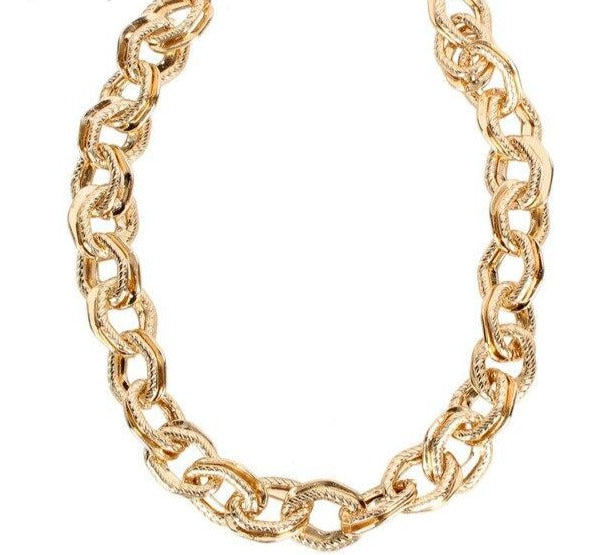 Simple Golden Chain Necklace