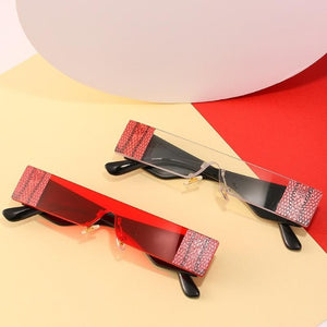 Iconic Slimline Small Rectangle Sunglasses