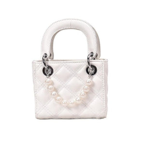 Elegant Small Pearl Grab Bag