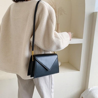 Load image into Gallery viewer, Soild Color Envelope Crossbody Bag