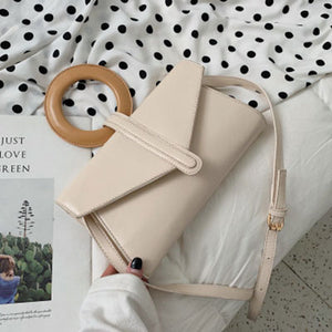 Envelope Crossbody And Belt Bag With Handle