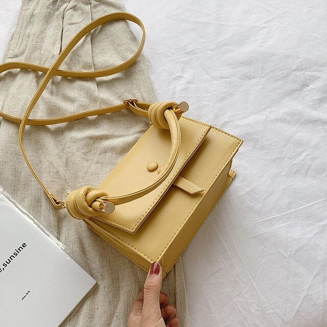 Casual Solid Colour Crossbody Bag