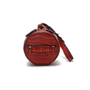 Load image into Gallery viewer, Stone Pattern Mini Round Crossbody Bag