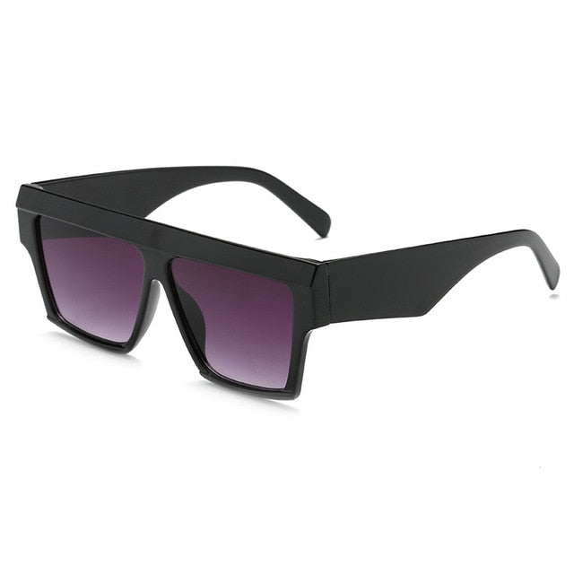 Load image into Gallery viewer, Black Oversized Square Sunglasses