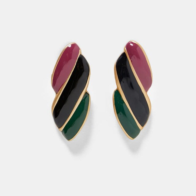 Load image into Gallery viewer, Multicoloured Vintage Inspired Earrings