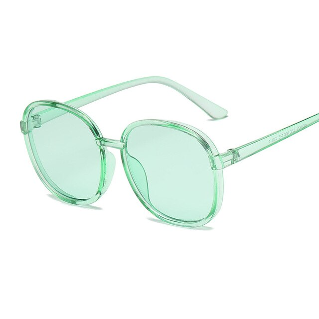 Load image into Gallery viewer, Retro Round Clear Sunglasses