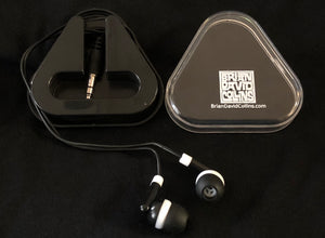 5. Earbuds with BDC carrying case